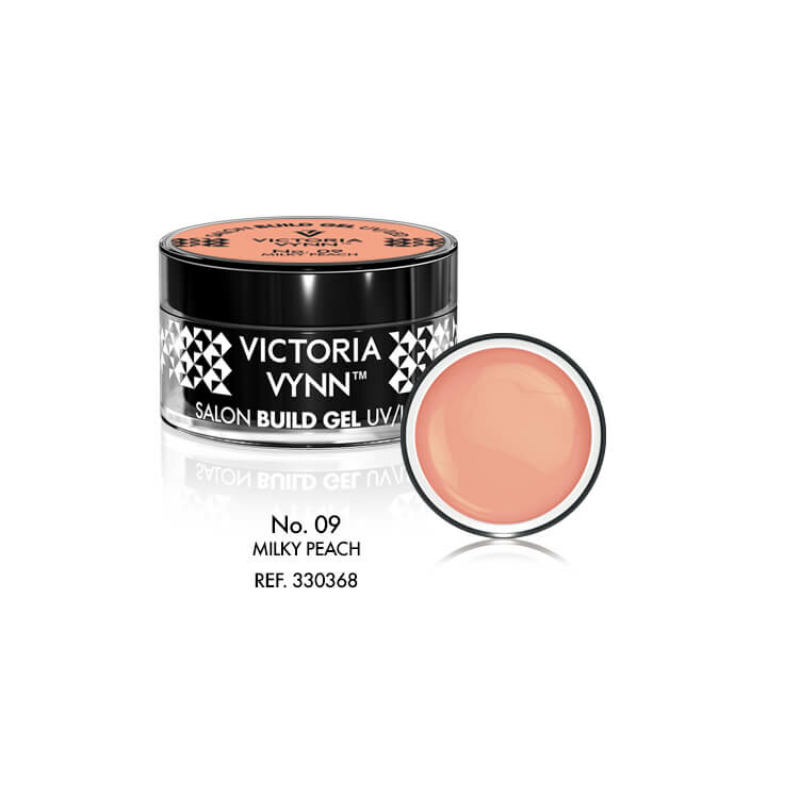 Build Gel 09 UV/LED Milky Peach 15 ml