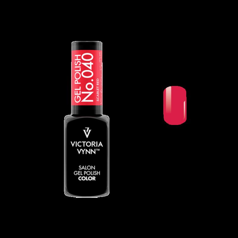Gel Polish 040 Scarlet Red 8 ml