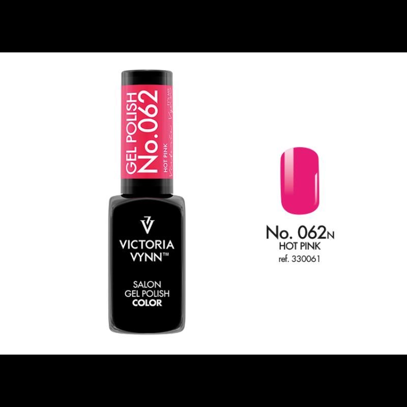 Gel Polish 062 Hot Pink 8 ml