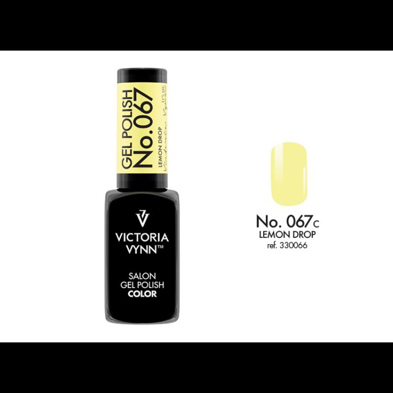 Gel Polish 067 Lemon Drop 8 ml