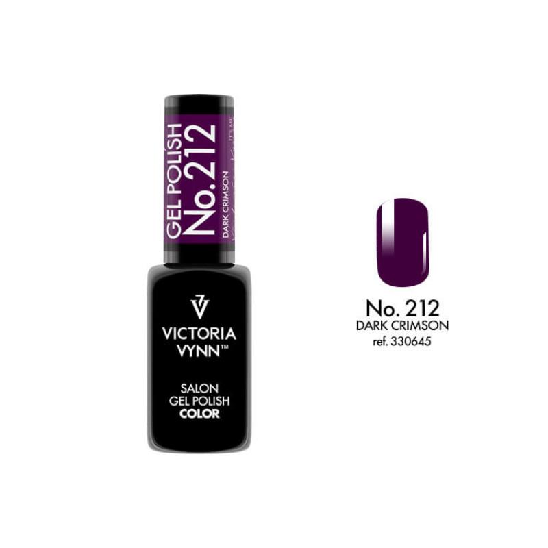 Gel Polish 212 Dark Crimson 8 ml