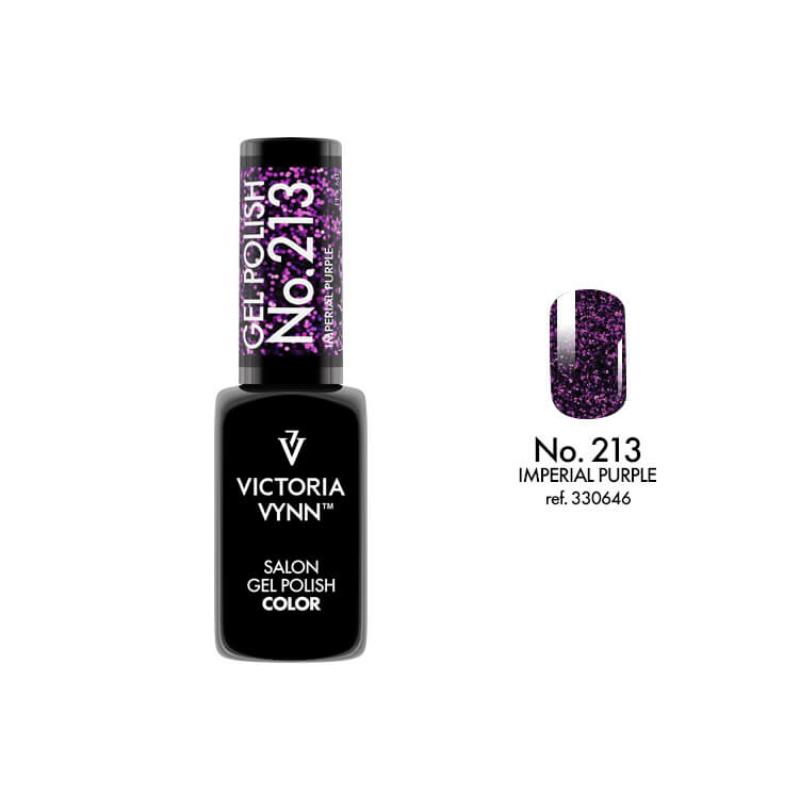 Gel Polish 213 Imperial Purple 8 ml