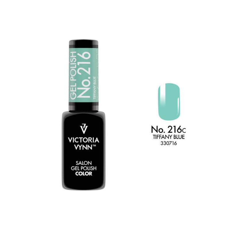 Gel Polish 216 Tiffany Blue 8 ml