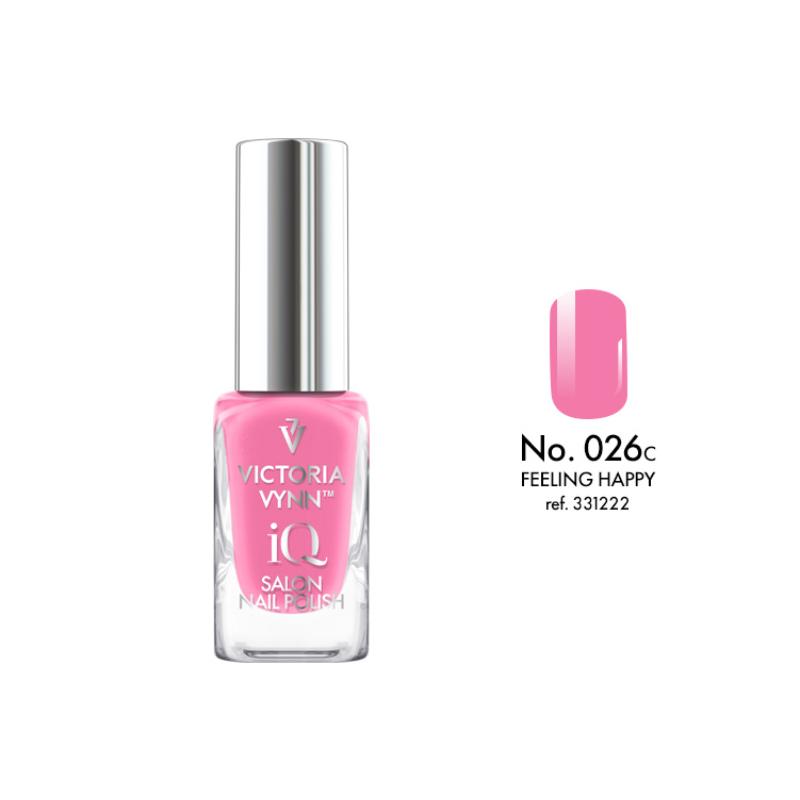 IQ Nail Polish 026 Feeling Happy 9 ml