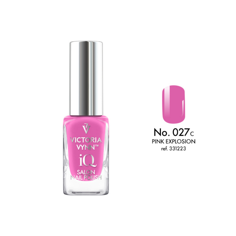 IQ Nail Polish 027 Pink Explosion 9 ml