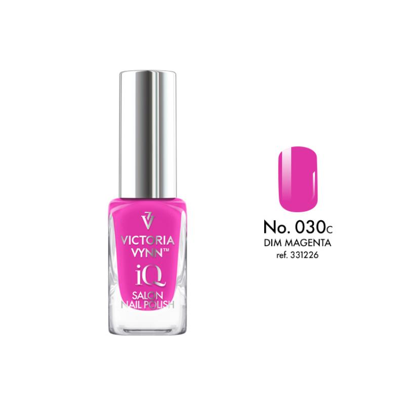 IQ Nail Polish 030 Dim Magenta 9 ml