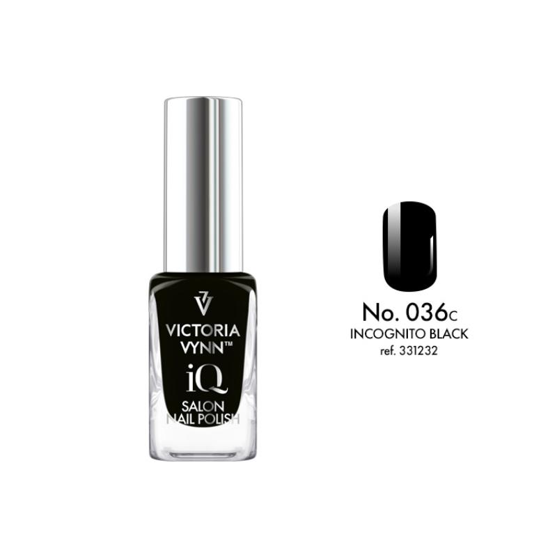 IQ Nail Polish 036 Incognito Black 9 ml