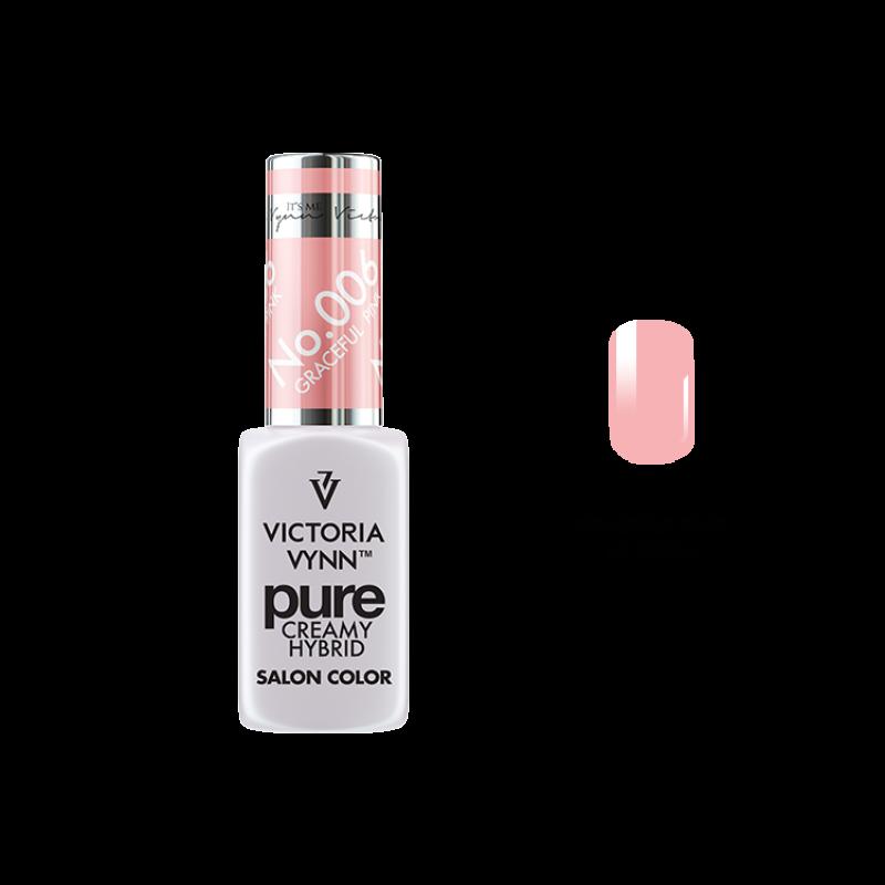 PURE CREAMY HYBRID 006 Graceful Pink 8 ml