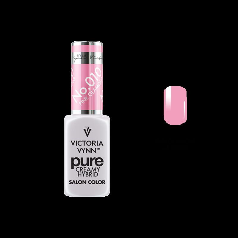 PURE CREAMY HYBRID 010 Pink Glamour 8 ml