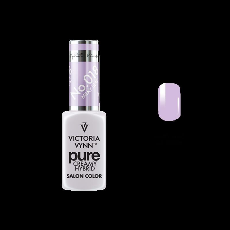 PURE CREAMY HYBRID 018 Milky Lilac 8 ml